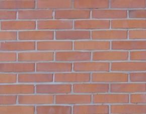ściana z cegły pełnej